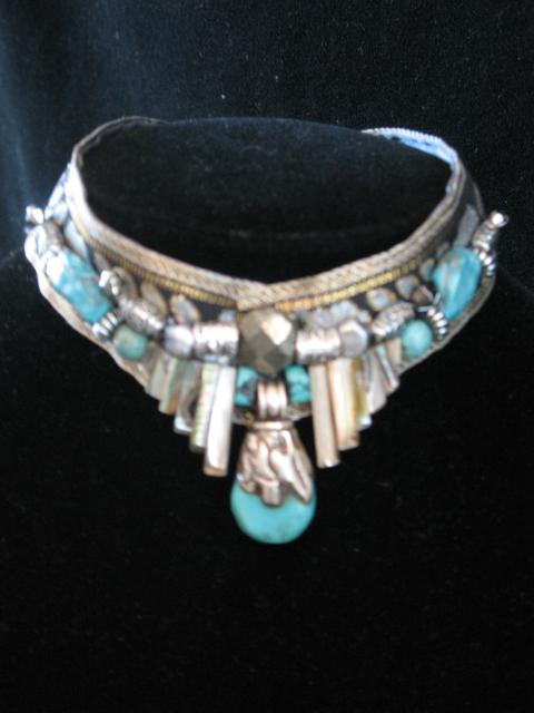 turquoise choker *******SOLD******